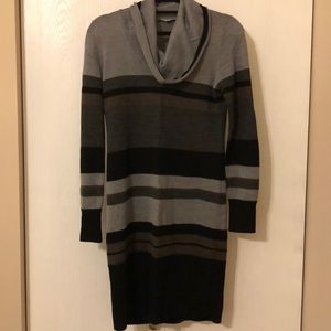 Ann Taylor loft striped sweater dress